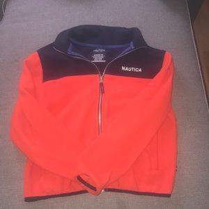 Nautical fleece jacket